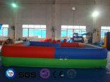 코코야자 물 디자인 팽창식 사각 모양 다채로운 도약자 성곽 LG9060