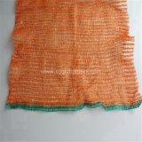 Orange 50*80 Raschel verpackende Gemüseineinander greifen-Beutel