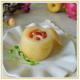 L'exportation des poires en boîte