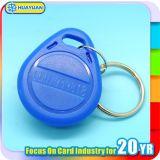 ABS Tk4100 RFID Keyfobs do logotipo do laser do baixo preço para o controlo de acessos