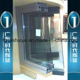Puerta de aluminio del marco de la puerta del tocador de la puerta del cuarto de baño de la puerta interior