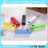 Perfume 2600mAh batería externa Power Bank con pantalla LED (ZYF8059)