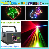Laser do DJ 400mw Animation Effect Mini RGB do disco
