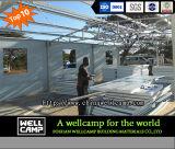 Casa de campo Prefab modular do sanduíche da casa verde