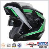 Qualitäts-modularer Sturzhelm mit doppelter Maske für Motorrad (LP507)