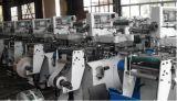 La escritura de la etiqueta del papel del control del PLC de la barbilla muere la máquina del cortador