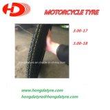 Motorrad-Gummireifen-schlauchlose Reifen-Größe 300-18 300-17