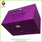 Delicatedの表示紫色のパッキングギフトの美の化粧品ボックス