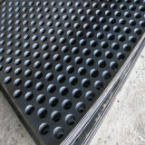 Galvanized Surfaceの金属Sheet Fabrication Hexagon Hole Punching