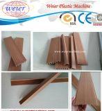 Ligne en plastique en bois écologique d'extrusion de profil du composé WPC
