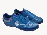 Großhandelsseeblaue Fußball-Fußball-Mann-Schuhe
