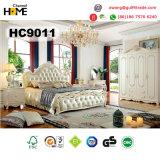 Jeu de chambre à coucher classique européen en bois solide de meubles (HC9011)