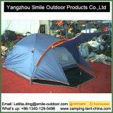 Kundenspezifisches kampierendes Kabinendach-Bildschirmanzeigetipi-blaues BergZelt Zelt