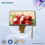 luminoso TFT LCD de 7inch 800*480 3X9-LEDs com a tela de toque da capacidade
