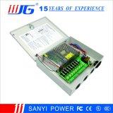 12V10A-9CH 유리제 신관 9 채널 CCTV 전력 공급 상자