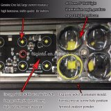 Ginto 180W 32.5inch 4D heller Stab des Objektiv-4X4 LED für LKW