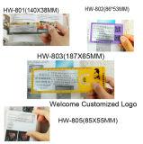 Signet promotionnel avec la loupe 3X 6X 187*65mm Hw-803A du relevé de grille de tabulation