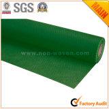 Verde de hierba no tejido del material de embalaje del regalo de la flor No. 35