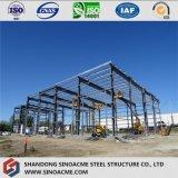 Gruppo di lavoro della struttura del blocco per grafici d'acciaio con il tetto piano