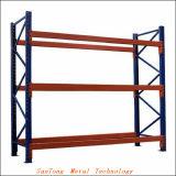 3つの層の中型の義務の保管倉庫ラック