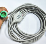 Câble des fils ECG de Lifepack 5 avec le clip ECG