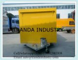 Le meilleur chariot de nourriture de chariot de nourriture de qualité de ventes chaudes avec le logo Vending la remorque mobile de nourriture