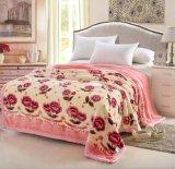 Wholesale Home Textile Mink Raschel Blanket Factory China/Raschel Blanket