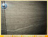 Фабрика мрамора вены Brown кофеего качества сразу