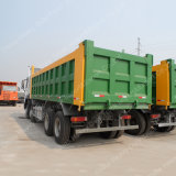 중국 HOWO에서 발송은 아주 새로운 25 Cbm 팁 주는 사람 트럭을 나른다