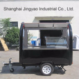 Carrello mobile dell'alimento con la macchina del yogurt Frozen per la vendita del hot dog