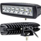 6000k 6 pulgadas de trabajo del LED Mini luz LED 60W Bar