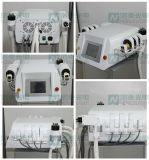 lipolisis del laser Lipolaser+RF del diodo 650nm que adelgaza la máquina de la belleza