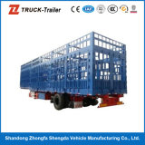 Sale를 위한 3개의 차축 높 힘 Steel Stake Fence Semi Trailer Truck