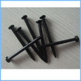 黒いリングのすねの屋根ふきの釘の/Blackの糸のすねの鉄の釘