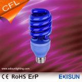 De lampes d'économie d'énergie de la spirale 20W 26W E27 de T3 de lampe colorée de CFL demi