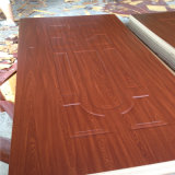 Больше Than 100 Type Moulded HDF Door Skin Plywood с Ep Teak