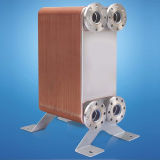 Cambiador de calor cubierto con bronce de la placa para la HVAC, pompa de calor
