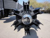 정연한 거미 관 허브를 가진 14t 스포크 독일 유형 차축