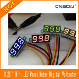 "Mini 0.28 "" CC Green Digital Voltmeter LED Panel Power Monitor di CC 0-100V di Volt Meter"