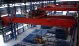 Мастерская стальной структуры вытягивает шею 5 тонн оборудования 10 тонн поднимаясь