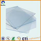 RoHS 4X8 3mm Rigid PVC Transparent Sheet mit Both Masking