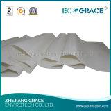Sacchetto filtro della polvere del tessuto di filtrazione su membrana di PTFE