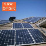 Prix bon marché 5kw outre de fournisseur solaire de système d'alimentation de picovolte de réseau