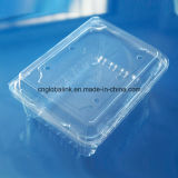 Коробка пластичный упаковывать пластичной коробки упаковки еды устранимая ясная для перца