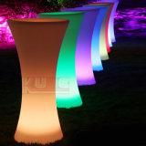 Tabella di cocktail di plastica della Tabella della barra rotonda per il randello di notte