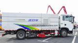 4X2 Sinotruck HOWO 10 de estrada da vassoura 10 da rua M3 toneladas de caminhão da lavagem