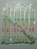 Plástico impreso envolvió palillos de bambú al por mayor para el sushi