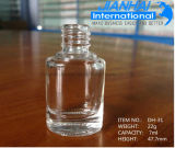 bottiglia trasparente del polacco di chiodo di formato differente di 4ml/7ml/10ml /13ml/ 15ml/18ml