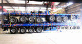 De Cimc 40FT do leito 4axle reboque Semi