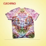 O melhor preço! ! ! T-shirt de Polyester do Sublimation, t-shirt de Sublimation Cotton, t-shirt de Sublimation para Sale